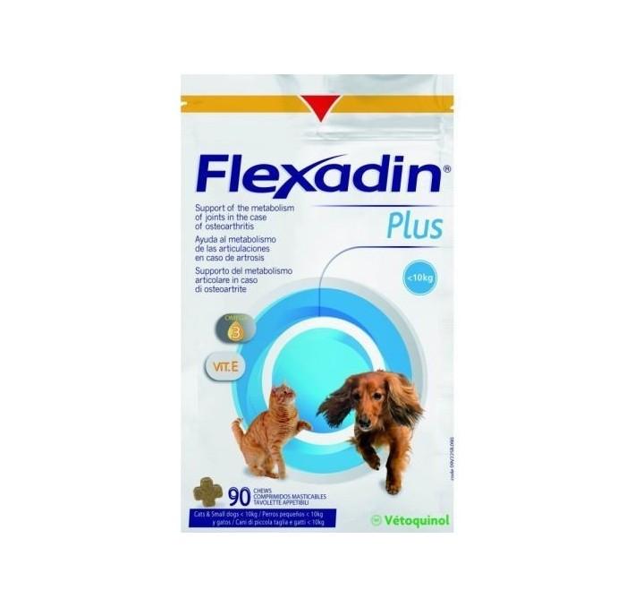 Flexadin Plus Condroprotección para perros pequeños y gatos, 90 comprimidos