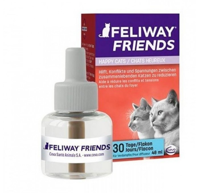 Recambio para Feliway Friends Difusor, 48ml