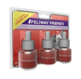 Pack de 3 recambios para Feliway Friends Difusor, 3x48ml