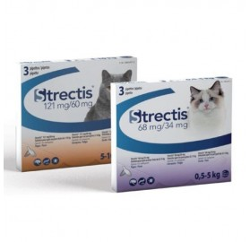 Strectis Spot On Pipetas Antiparasitarias Gatos Ceva