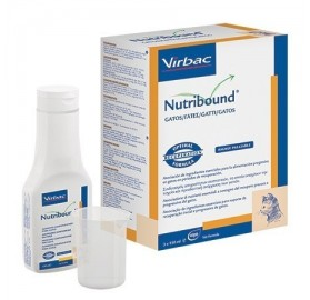 Nutribound Gatos Solución oral Virbac, 3x150ml