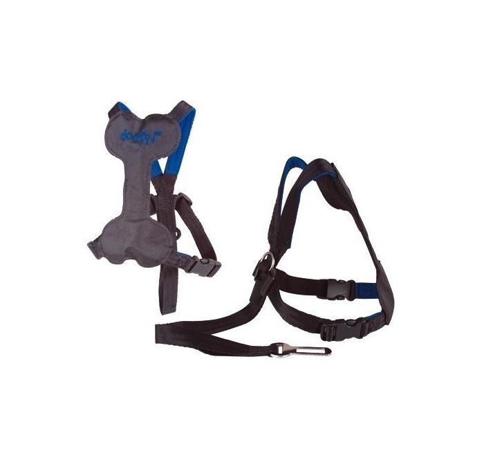 Arnés de Coche con Cinturón de Seguridad incorporado Doggy