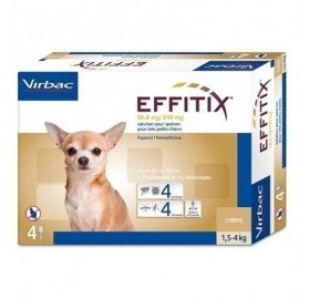 Pipetas Effitix Perros 1,5-4kg Virbac