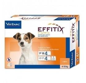 Pipetas Effitix Perros 4-10kg Virbac