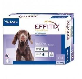 Pipetas Effitix Perros 10-20kg Virbac