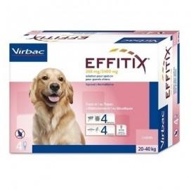 Pipetas Effitix Perros 20-40kg Virbac
