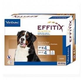Pipetas Effitix Perros 40-60kg Virbac