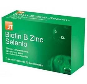 Biotin B Zinc Selenio Perros y Gatos JTPharma, 60 comprimidos