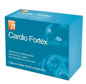 Cardio Fortex Perros y Gatos JTPharma, 60 comprimidos