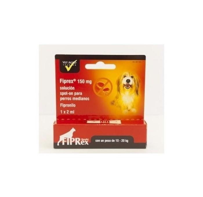Fiprex Pipetas Antiparasitarias Perros 10-20kg