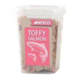 Snack para perros Semihúmedos Toffy Salmón, 250gr