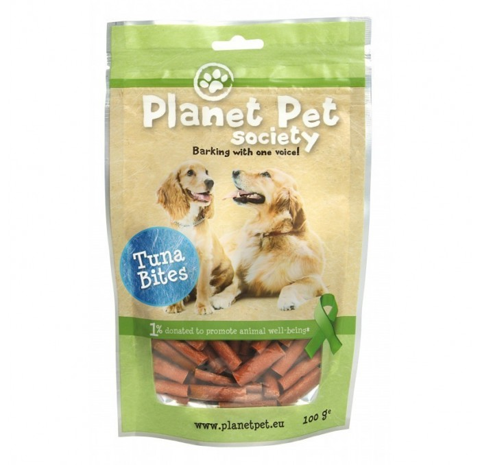 Snacks Bites Atún para Perros Planet Pet