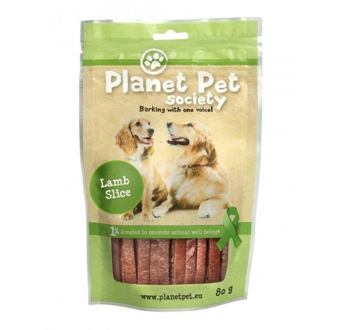 Snack Tiras de Cordero Planet Pet