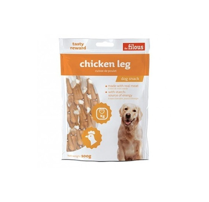 Snacks Naturales Perros Chicken Leg Les Filous