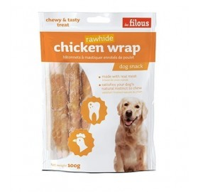 Palitos de Pollo para Perros Chicken Wrap Les Filous