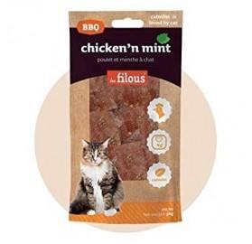 Snack Natural para Gato de Pollo y Menta