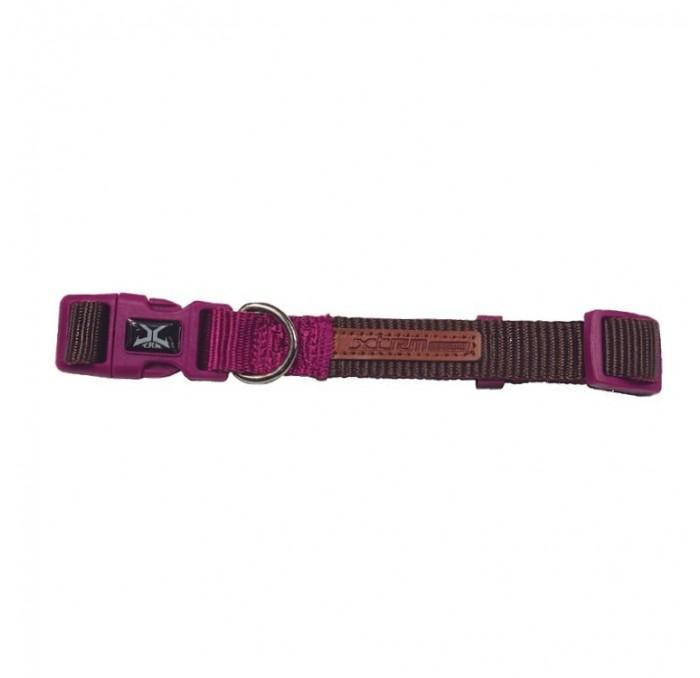 Collar Perro Marrón X-TRM Doble Premium Nayeco