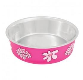 Comedero Antideslizante Blossom Fucsia