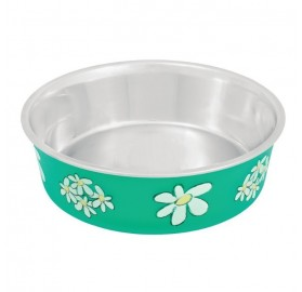 Comedero Antideslizante Blossom Verde