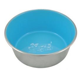 Comedero Azul Inoxidable Antideslizante Spot