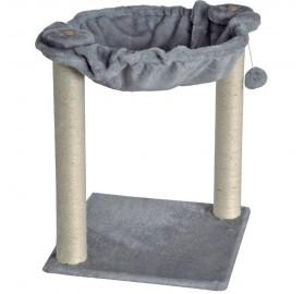 Rascador Savanna Hammock Gatos gris, 40x40x51 cm