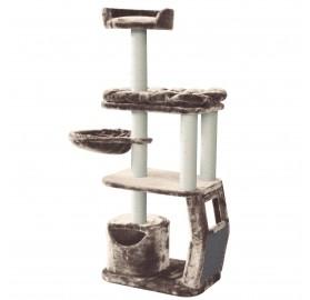 Rascador para Gato Boeny cappuccino, 60x40x147cm