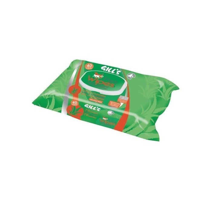 Toallitas Húmedas XL Higienizantes con Aloe y Clorhexidina Gill's