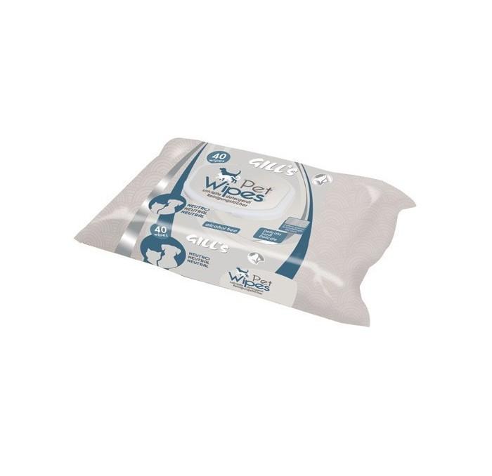 Toallitas Húmedas XL Higienizantes Neutro Pieles Delicadas Gill's