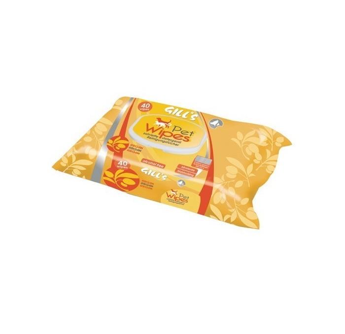 Toallitas Húmedas XL Higienizantes con Aceite de Argan Gill's