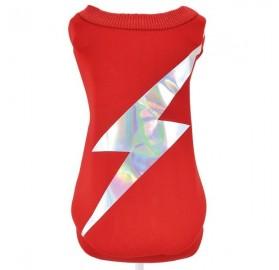 Jersey Flash rojo para Perro