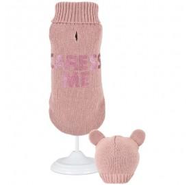Jersey para Perro punto Sweet Bear Pink