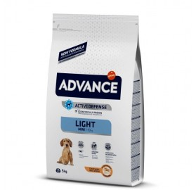 Pienso Advance Mini Light Affinity Pollo y Arroz