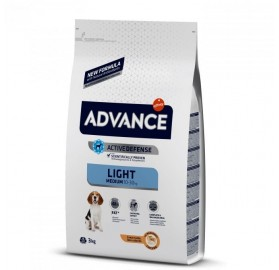 Pienso Advance Medium Light Affinity Pollo y Arroz