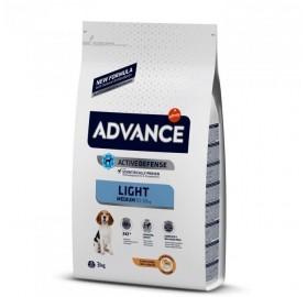 Pienso Advance Medium Light Affinity Pollo y Arroz