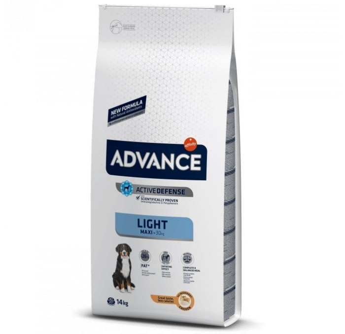 Pienso Advance Maxi Light Pollo y Arroz