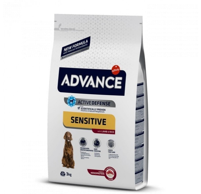 Pienso Advance Sensitive Cordero y Arroz