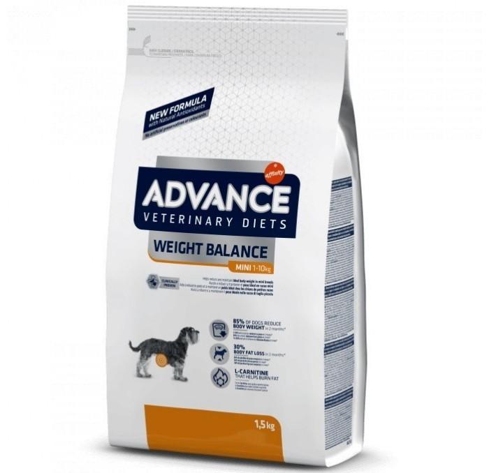 Pienso Advance Veterinary Weight Balance Mini 1,5kg