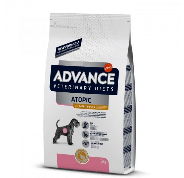 Pienso Advance Veterinary Atopic Care Conejo y Guisantes