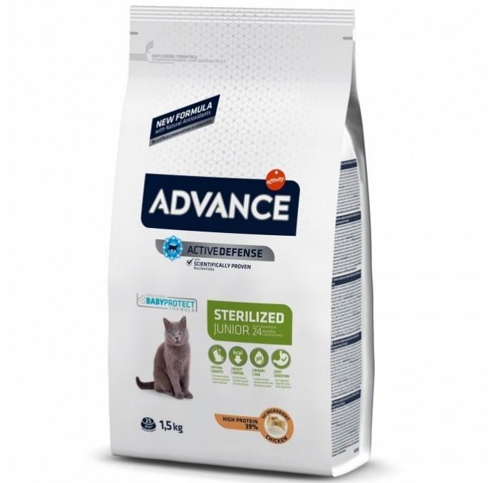 Pienso Advance Gato Young Sterilized 1,5kg