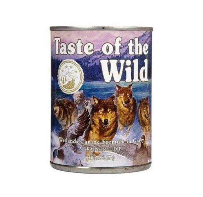 Lata Taste of the Wild Wetlands Pato