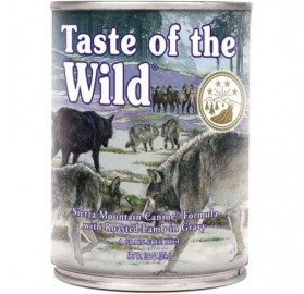 Lata Taste of the Wild Sierra Mountain Cordero