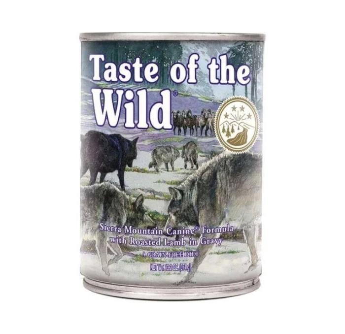 Lata Taste of the Wild Sierra Mountain Cordero