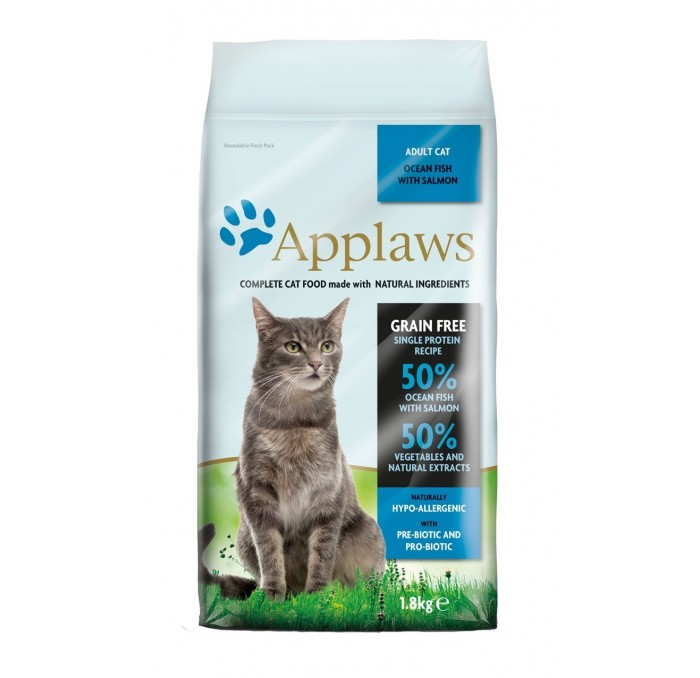 Applaws Cat Adulto Pescado con Salmón