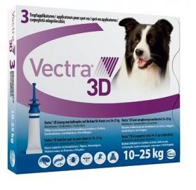 Vectra 3D Pipetas para perros 10-25kg Ceva