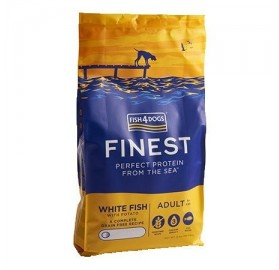 Finest Fish4dogs Ocean White Fish (small bite)