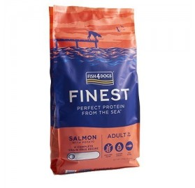 Finest Fish4dogs Salmon Complete (small bite)