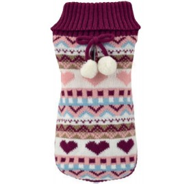 Jersey Perros Winter Love Rosa Nayeco