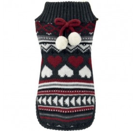 Jersey Perros Winter Love Gris Nayeco