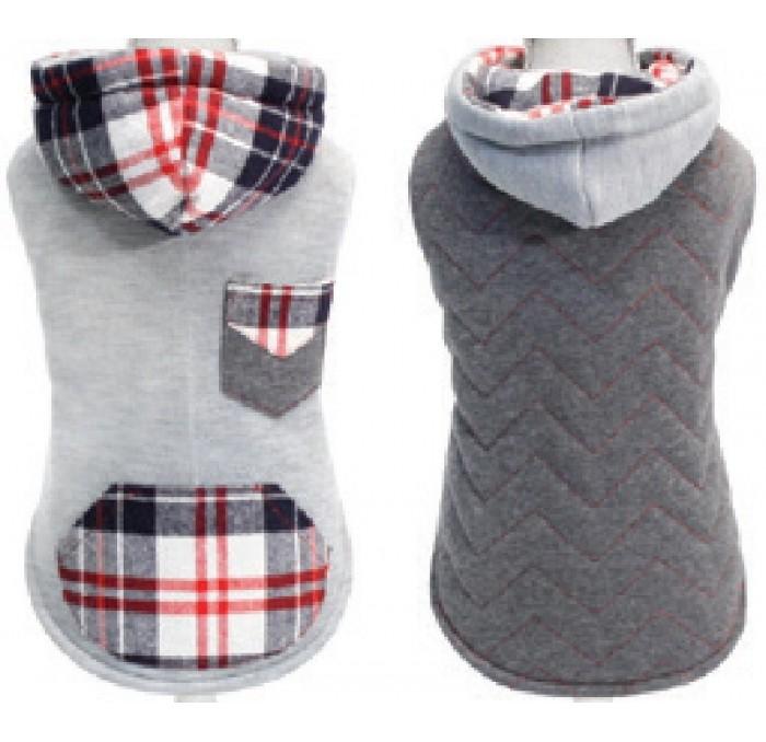 Sudadera Reversible para Perros Sweatshirt Chessboard
