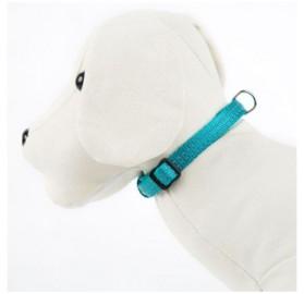 Collar para Perro Reflectante Acolchado Turquesa